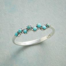 Sterling, mermaidkissesring, Sterling Silver Jewelry, DIAMOND