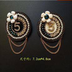 Tassels, brooches, Jewelry, scarfbrooch