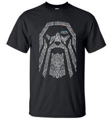 viking, Mens T Shirt, Plus Size, Summer