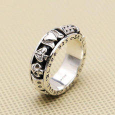 Antique, Sterling, Goth, 925 sterling silver