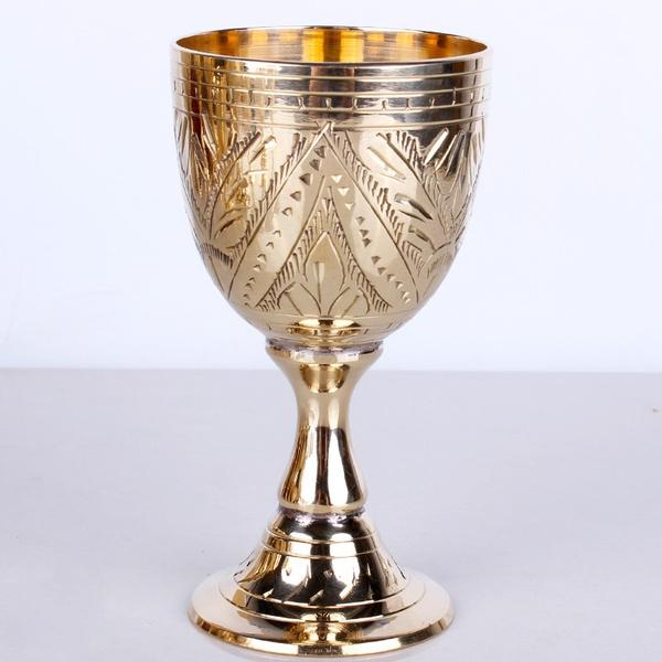 Copper, chalice, Decor, Goblets