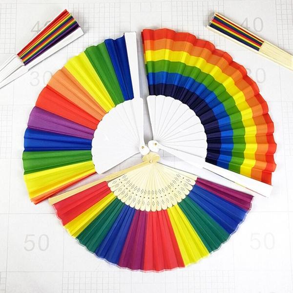 foldingfan, rainbow, lgbtpride, Chinese