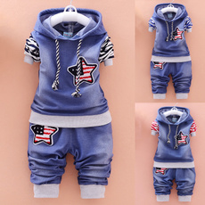 hooded, kids clothes, Winter, babysuit
