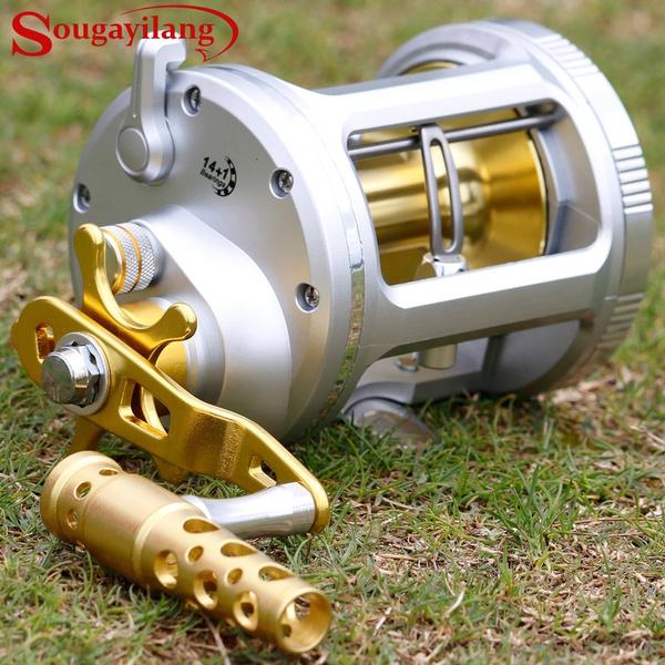 fishingrodreel, baitcastingreel, Metal, castingreel