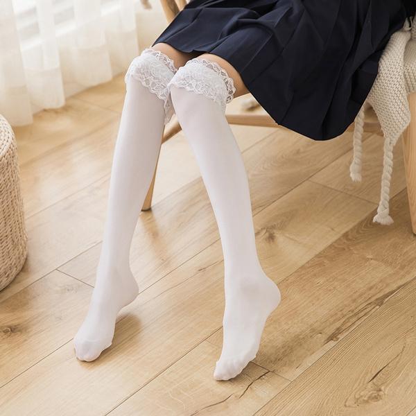 ladystocking, Lolita fashion, Lace, Socks