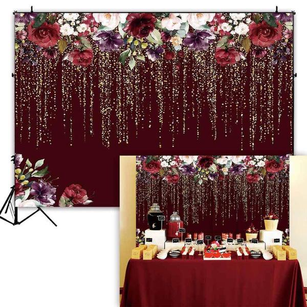 golden, Flowers, studioequipment, birthdaypartydecoration