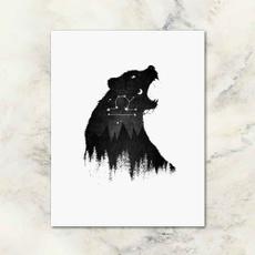 wildlife, polari, art, Decor
