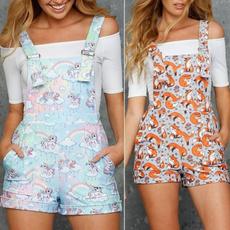 cute, Plus Size, Short pants, camisoleromper