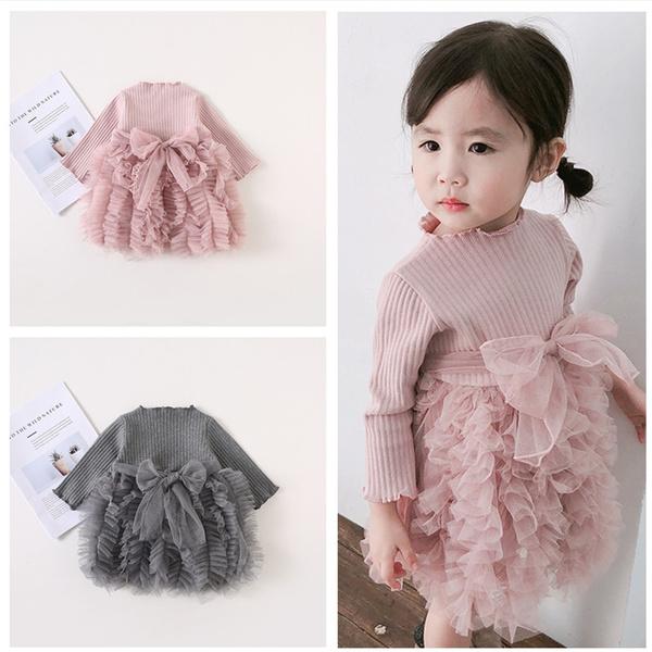 babytutudre, Baby Girl, Long Sleeve, Dress