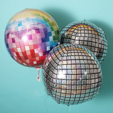 gradientballoon, Aluminum, Inflatable, Disco