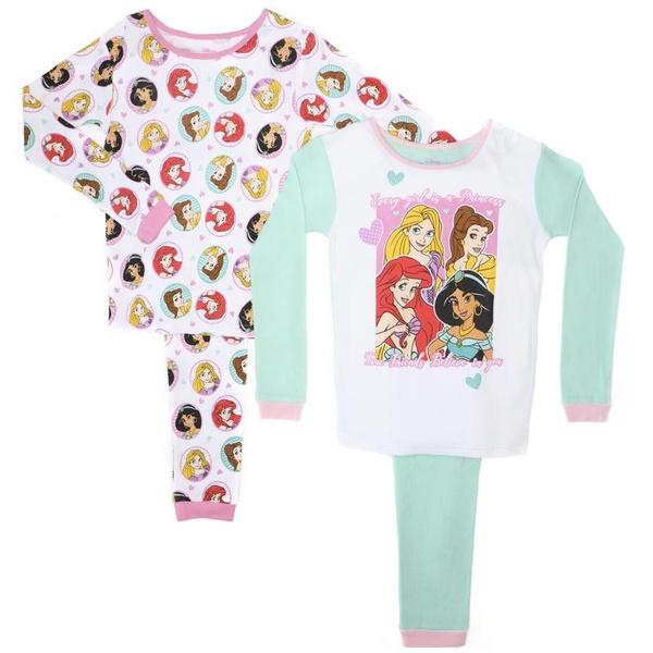 Pajamas, ame, Princess, Disney