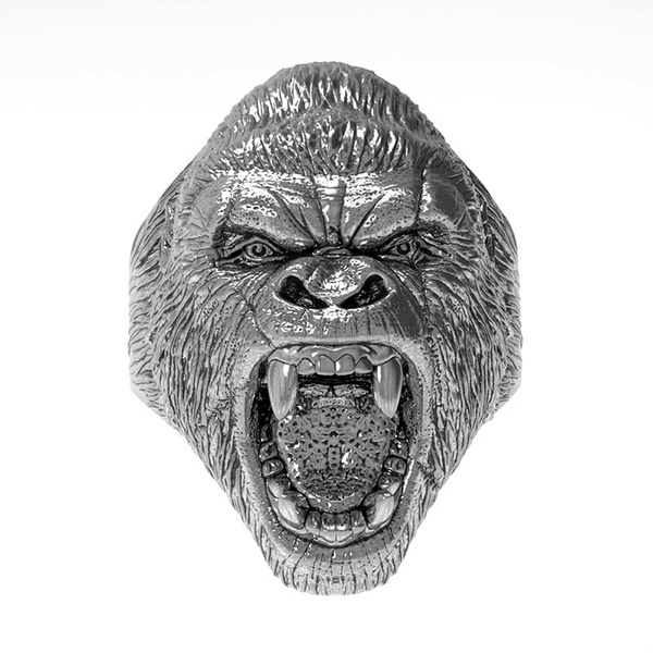 King, gorillaring, Jewelry, animalshapering