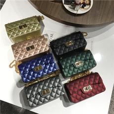 Mini, Fashion, Chain, Shoulder Bags