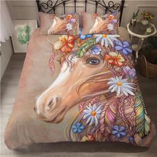 King, horse, Home Decor, featherbeddingset