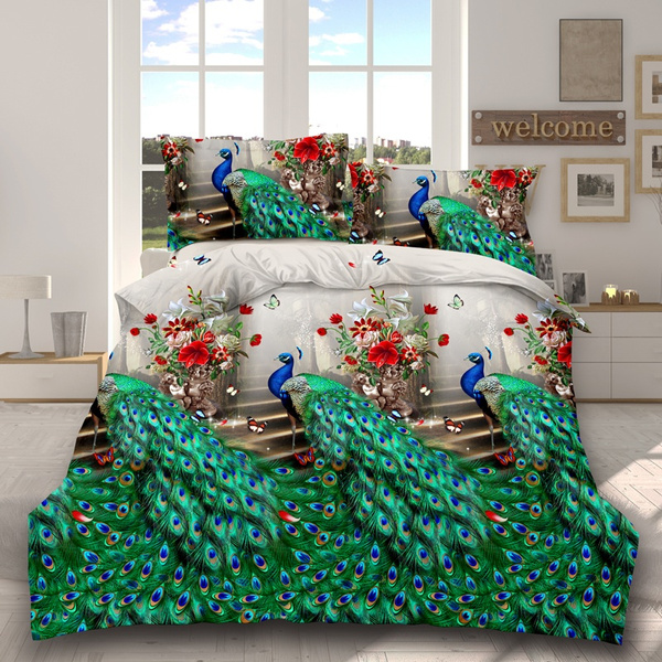 comforterbeddingset, painting, quiltcover, King