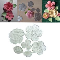 Steel, Flowers, leaf, scrapbookingamppapercraft