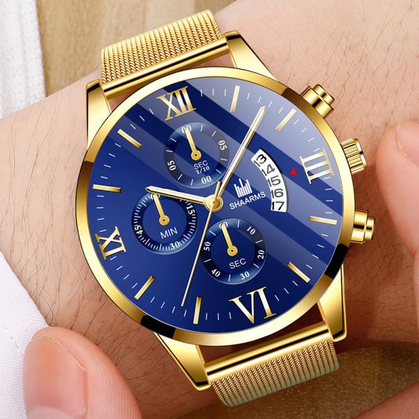 uhrenherren, Stainless Steel, Waterproof Watch, business watch