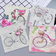 decoration, Coffee, Flowers, papernapkin