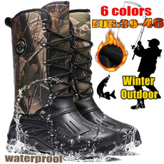 combat boots, Outdoor, Leather Boots, Winter