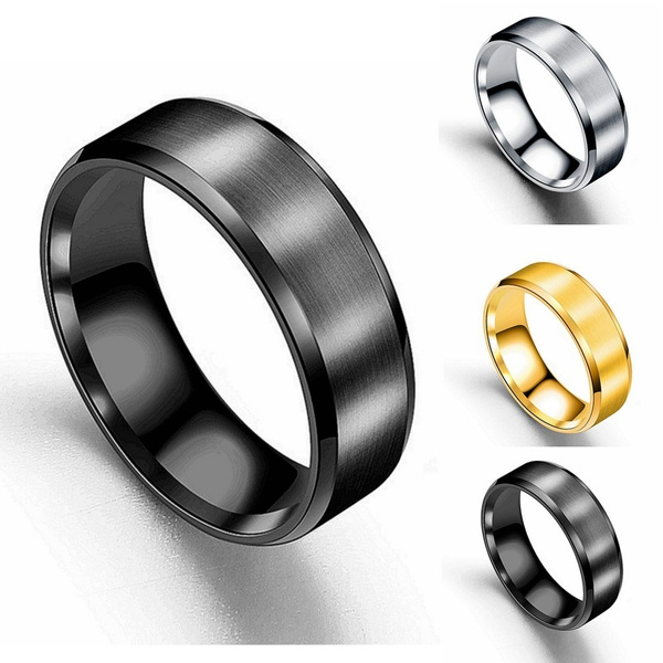 Couple Rings, Steel, titanium steel, Stainless Steel