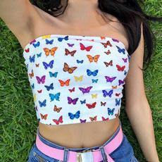 butterflyprint, butterfly, Vest, Fashion