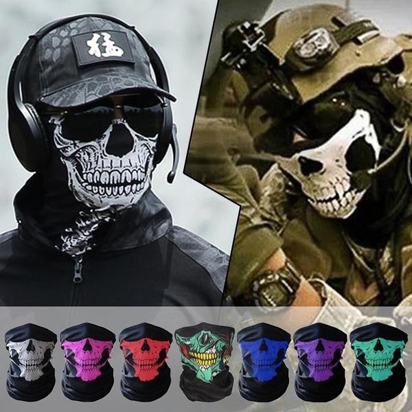 Helmet, Head Bands, Necks, skull
