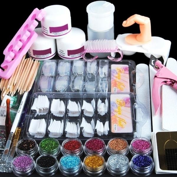 polymer, Beauty, nailbuildergelset, Tool