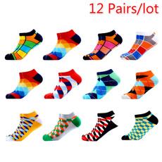 Summer, Shorts, Colorful, Socks