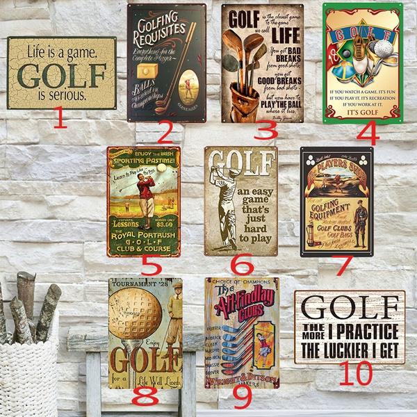 affordable, golfsign, art, golfposter