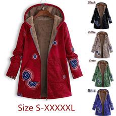 fur coat, Plus Size, Long Sleeve, fluffy