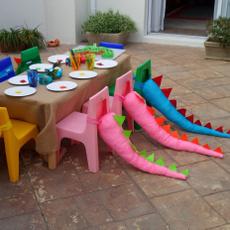 dinosaurparty, Toy, dinosaurthemedpartytoy, fleecedinosaurtailtoy