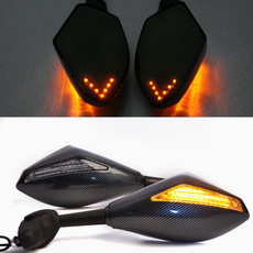 sidemirror, led, motorcyclesidemirror, lights
