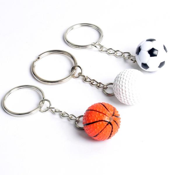 Basketball, Key Chain, sportsmansgift, Chain