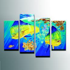 canvasart, Wall Art, Home Decor, fish