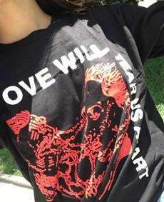 topictee, hearttshirt, Love, lovewilltearusapart