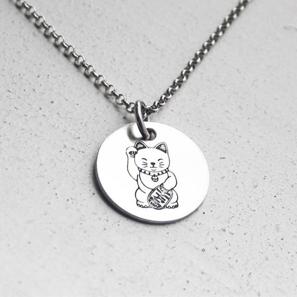manekineko, Jewelry, luckycat, Birthday Gift