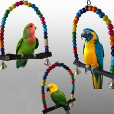 Toy, restrack, Wooden, parrottoy