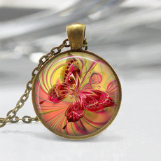 butterfly, pink, jewely, Jewelry
