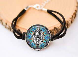 Jewelry, hamsa, of, Bracelet