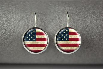 Dangle, Jewelry, Usa, Drop
