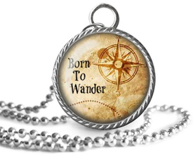wanderlust, Pendant, Jewelry, Tos