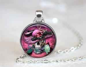 pink, Brass, Flowers, Jewelry