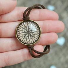 Antique, wanderlust, Jewelry, Compass