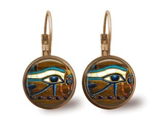 Brass, Dangle, eye, Jewelry