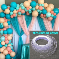 Chain, balloonchain, Balloon, Party Supplies