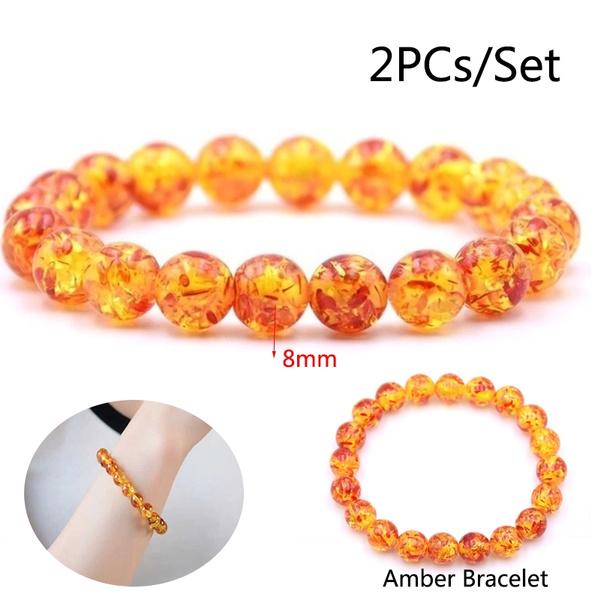 amber, 8MM, Jewelry, amberstone