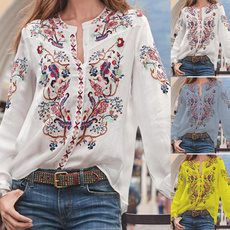 blouse, paisley, Fashion, Floral print