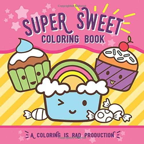 coloringbook, Sweets, craftsforchildren, coloringbookforkid