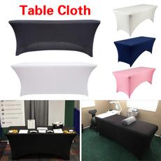 Kitchen & Dining, weddingtablecover, Elastic, rectangularspandextablecloth