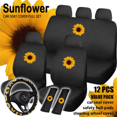 seatcoversforcar, Fashion, interioraccessorie, Sunflowers